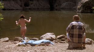 Lara Flynn Boyle butt naked and sex threesome and Katherine Kousi nude topless - Threesome (1994) HD 1080p Web