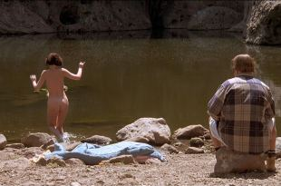 Lara Flynn Boyle butt naked and sex threesome and Katherine Kousi nude topless - Threesome (1994) HD 1080p Web (10)