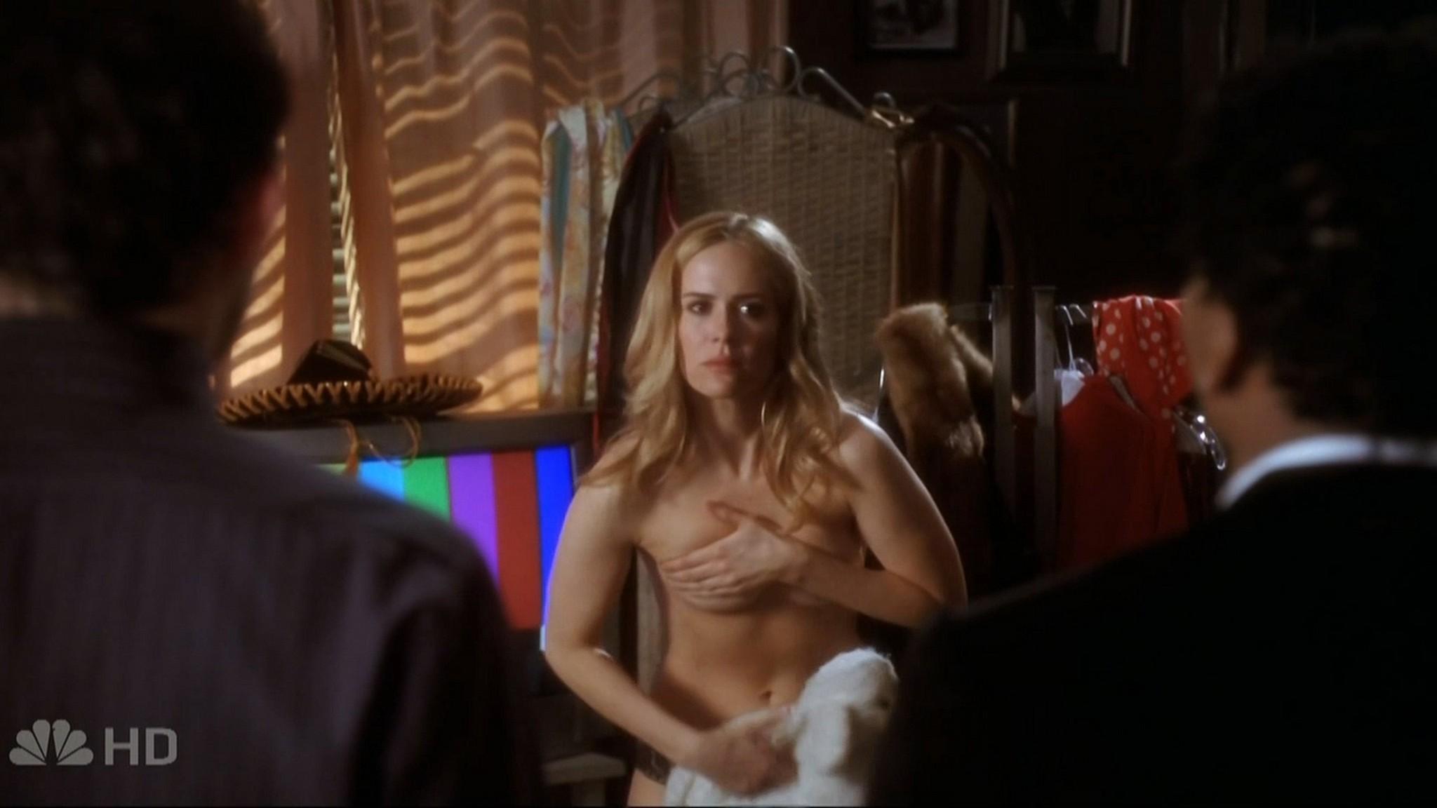 Sarah Paulson sexy - Studio 60 on the Sunset Strip (2006) s1e6 HD 720p (3)