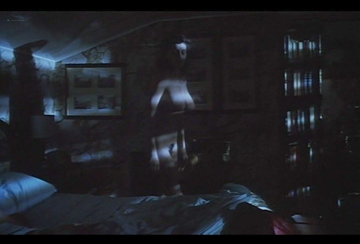 Serena Grandi nude near explicit full frontal nude topless and bush - Lady of the Night (1986) (19)