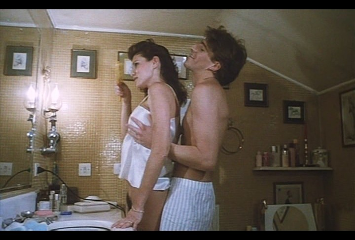 Serena Grandi nude near explicit full frontal nude topless and bush - Lady of the Night (1986) (5)