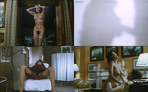 Serena Grandi nude near explicit full frontal nude topless and bush - Lady of the Night (1986)