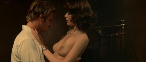 Sylvia Kristel nude topless bush sex thresome - Emmanuelle II (1975) hd720p
