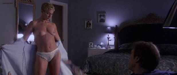 Elisha Cuthbert not nude but hot in lingerie and Edie Falco nude topless - The Quiet (2005) hd720p (7)