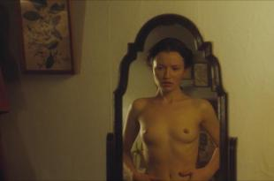 Emily Browning nude full frontal and topless and Mia Austen nude full frontal bush skinny dipping – Summer in February (2013) hd1080p