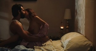 Gabrielle Anwar nude side boob and sex - 9/Tenths (2006) (6)