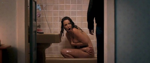 Katherine Heigl nude in the shower but covered the good parts - One for the Money (2011) HD 1080p (8)