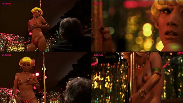 Ling Bai nude topless as stripper - A Beautiful Life (2008)