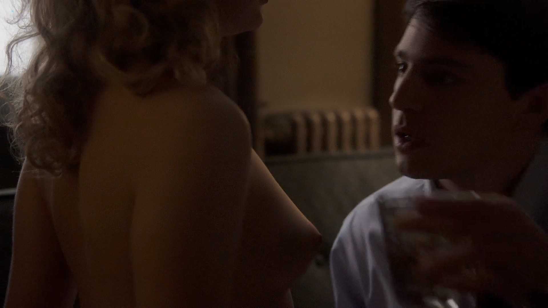 Lizzy Caplan nude topless Rose Mclever nude topless - Masters of Sex (2013) s1e4 HD 1080p (3)
