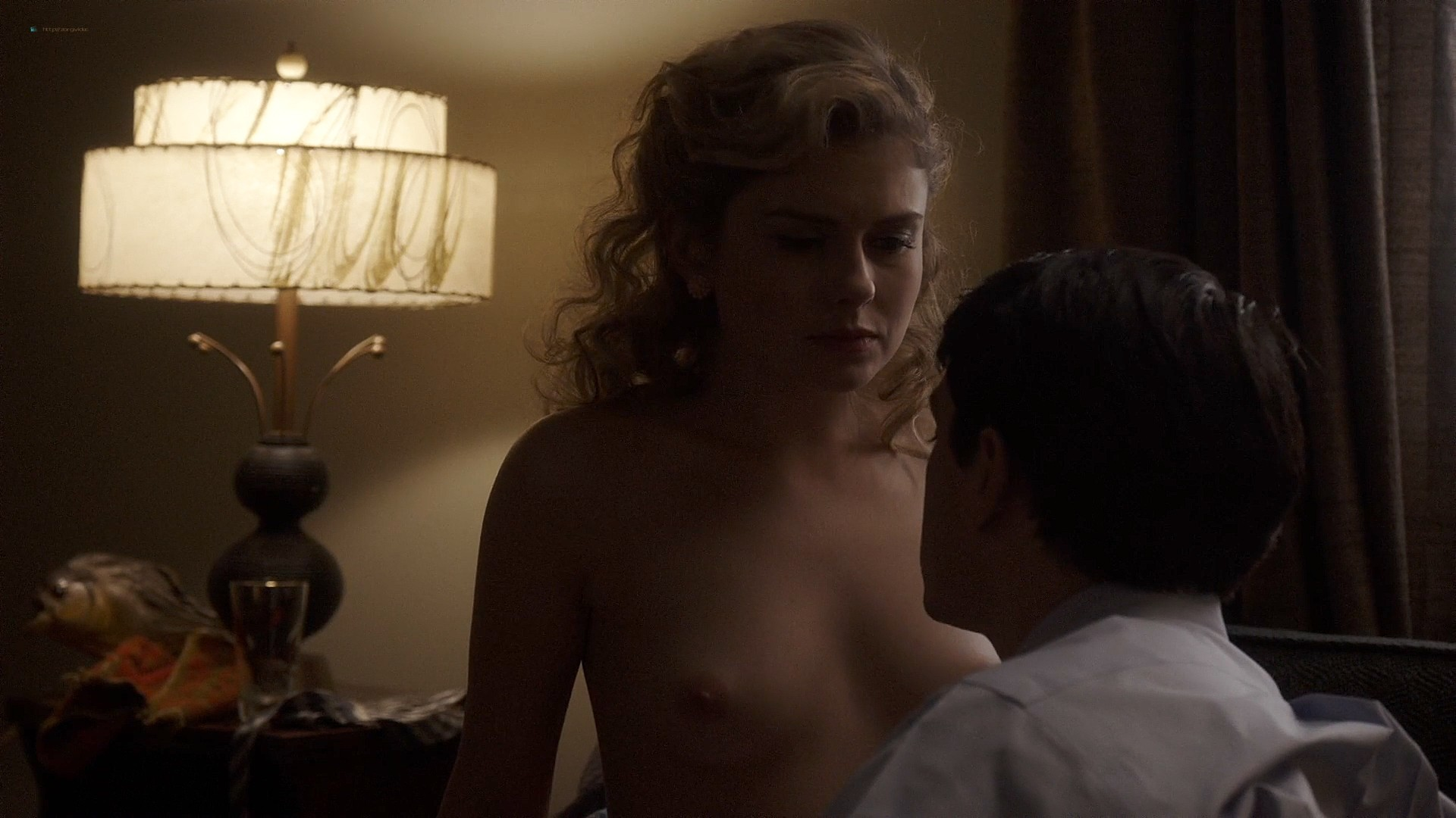 Lizzy Caplan nude topless Rose Mclever nude topless - Masters of Sex (2013) s1e4 HD 1080p (2)