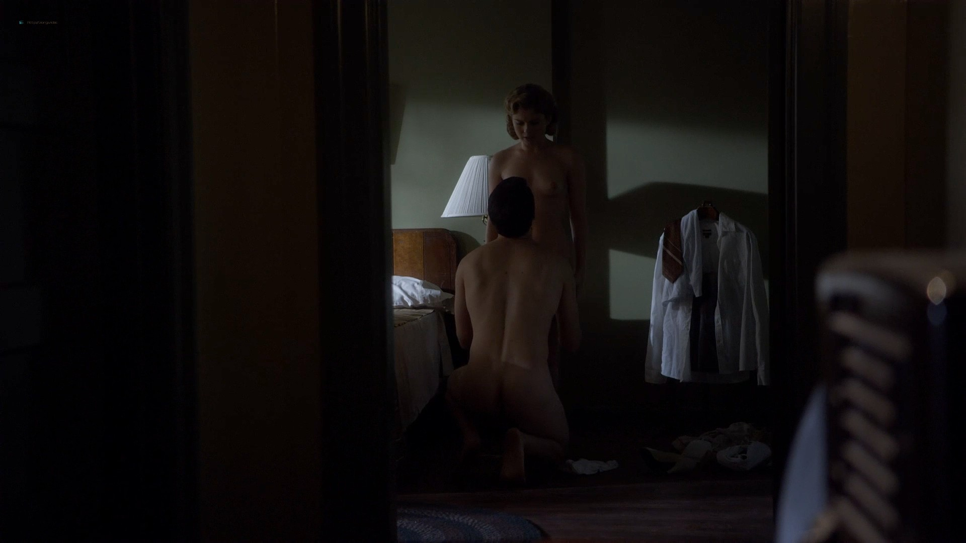Rose Mclever nude topless and sex and Helene Yorke nude topless - Masters of Sex (2013) s1e5 HD 1080p (14)