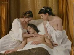 Stéphanie Crayencour nude topless and Cecile Cassel nip slip - The Romance of Astrea and Celadon (2007) (11)
