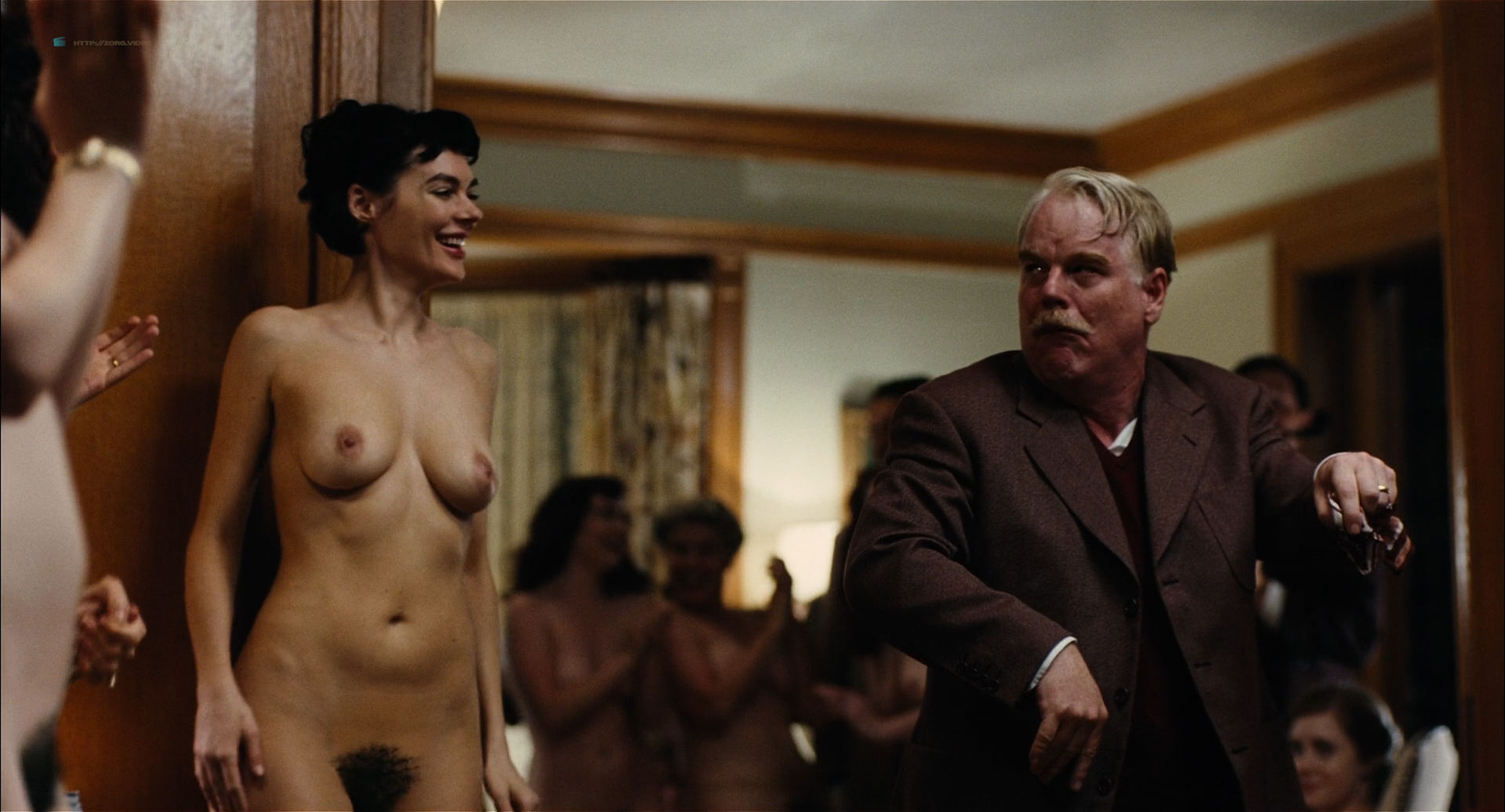 Amy Ferguson nude topless, Liz Clare, Katie Boland nude dancing Amy Adams nude covered and Jennifer Neala Page nude sex - The Master (2012) HD 1080p BluRay (16)