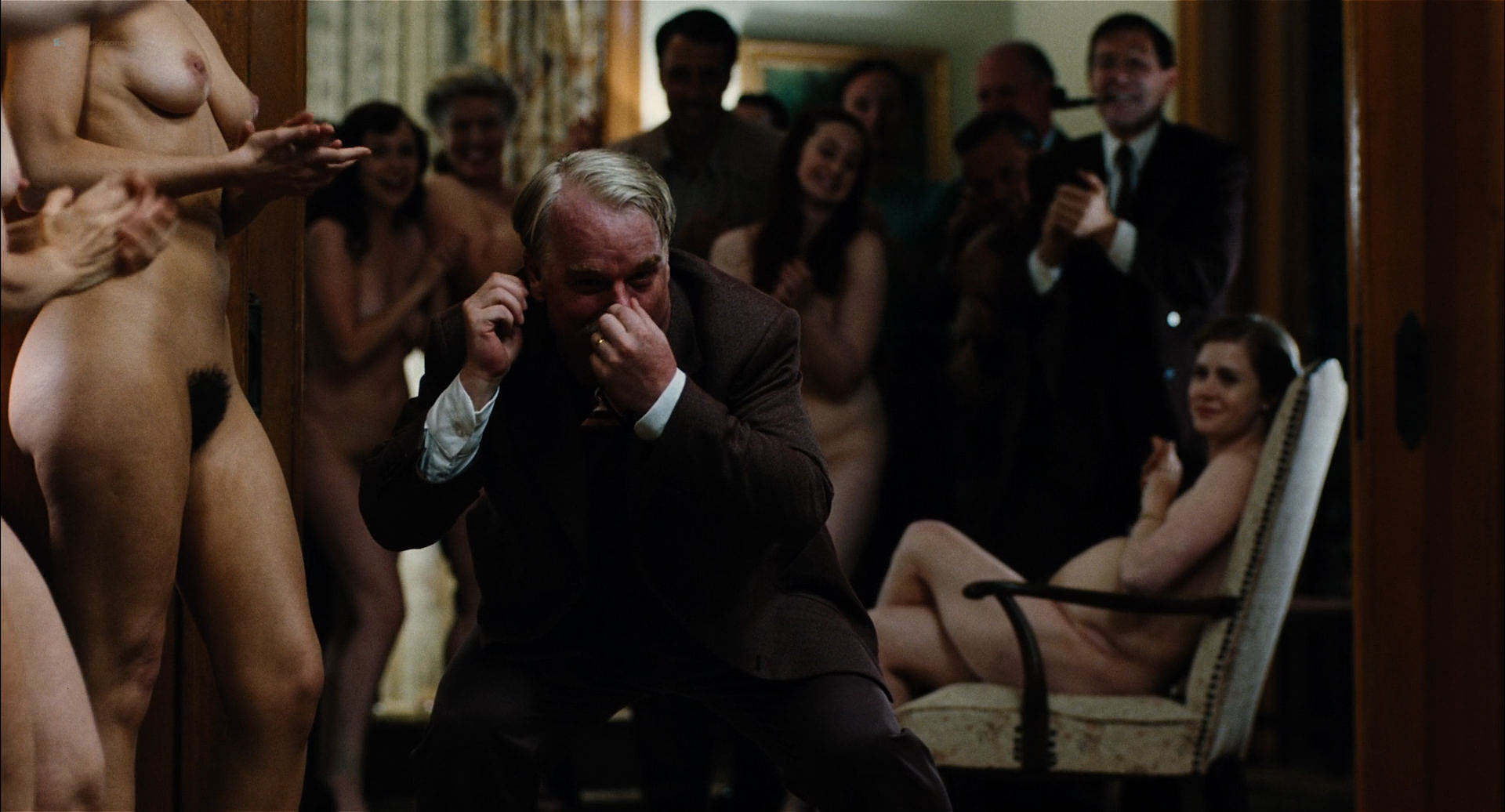 Amy Ferguson nude topless, Liz Clare, Katie Boland nude dancing Amy Adams nude covered and Jennifer Neala Page nude sex - The Master (2012) HD 1080p BluRay (14)