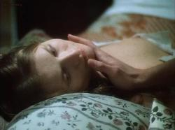 Isabelle Huppert nude full frontal bush - Lady of the Camelias (1981)