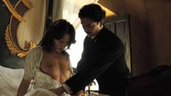 Laura Harring nude Giovanna Mezzogiorno and Ana Claudia Talancón nude sex - Love in the Time of Cholera (2007) HD 720p (14)