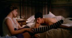 Ottavia Piccolo nude topless and sex - Bubu (1971)