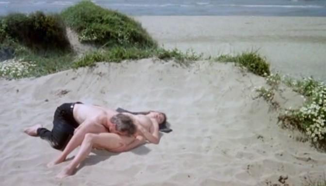 Serena Grandi nude topless bush full frontal oral and near explicit - Desiderando Giulia (1986) (14)