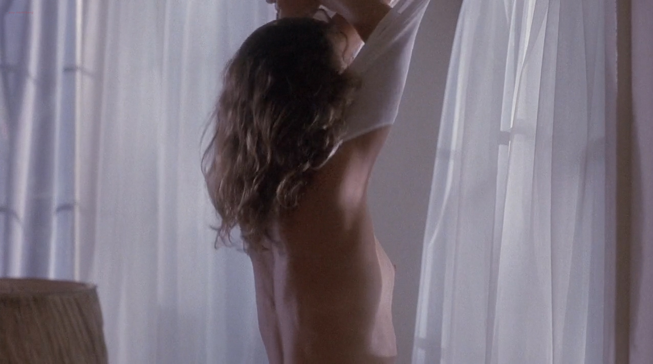 Ely Pouget nude topless and Judie Aronson nude topless some sex - Cool Blue (1990) HD 720p. (6)