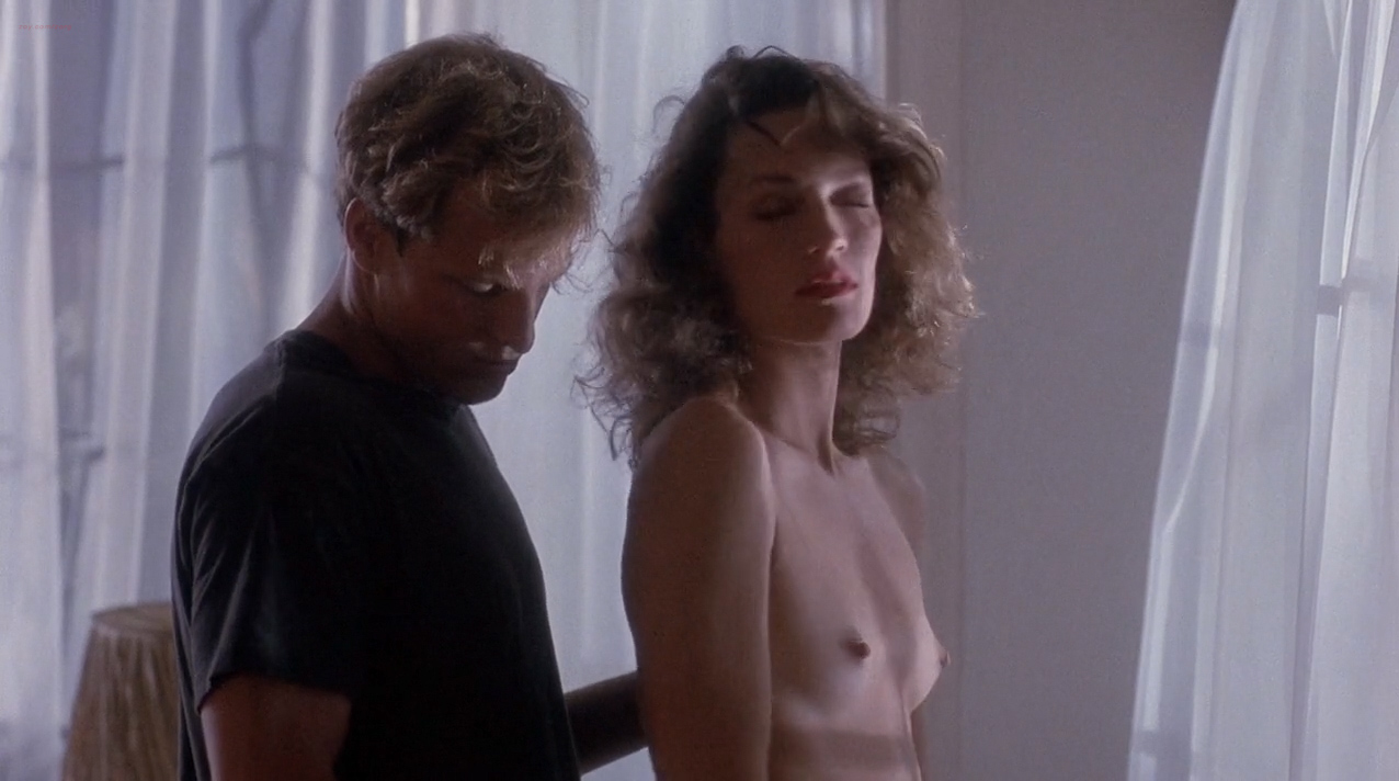 Ely Pouget nude topless and Judie Aronson nude topless some sex - Cool Blue (1990) HD 720p. (4)