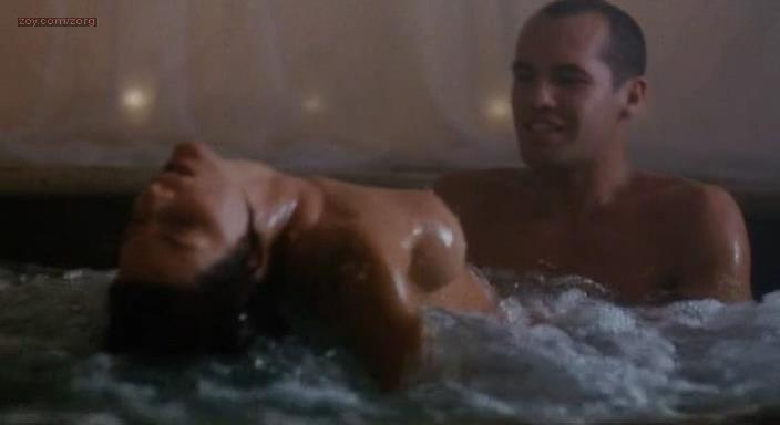 Joan Severance nude topless sex lesbian and May Karsun nude full frontal sex threesome - Lake Consequence (1992)