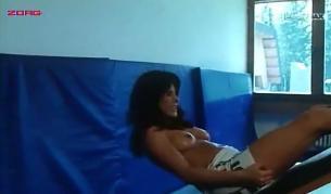 Malu (Ileana Carusio) nude full frontal sex lesbian - La Strana Voglie (1991)