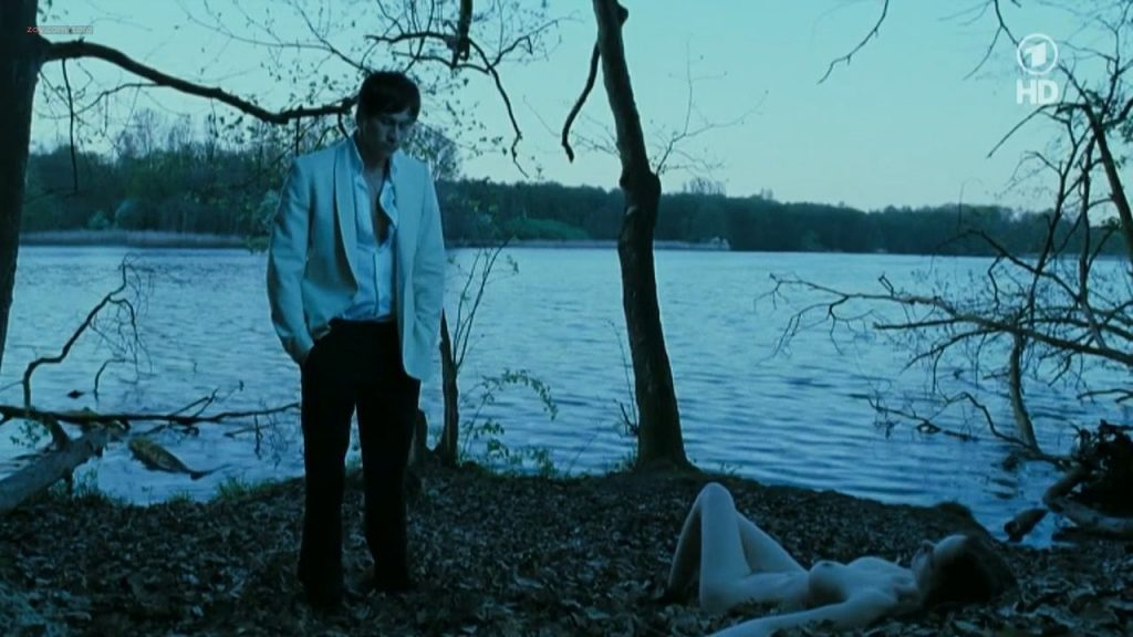Nina Hoss nude full frontal bush and skinny dipping - Das Herz ist ein dunkler Wald (2008) HDTV 720p (8)