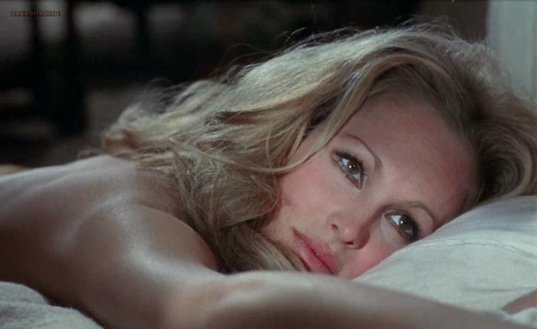 Ursula Andress nude butt and topless – Perfect Friday (1970)