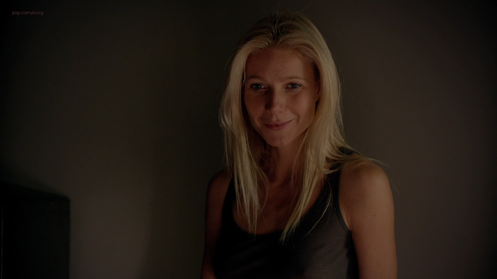 Gwyneth Paltrow hot sexy in black lingerie - Thanks for Sharing (2012) HD 1080p