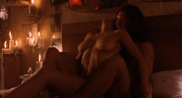 Salma Hayek nude topless and sex - Desperado (1995) hd1080p
