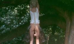 Sirpa Lane nude full frontal bush and labia - The Beast (1975)