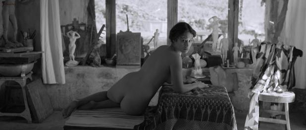 Aida Folch nude posing nude full frontal topless and skinny dipping - The Artist and the Model (FR/ES-2012) hd1080p