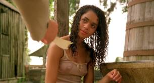Lisa Bonet nude topless bloody and hot sex and Elizabeth Whitcraft nude topless in - Angel Heart (1987) hd1080p (17)