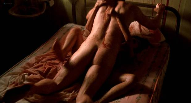 Lisa Bonet nude topless bloody and hot sex and Elizabeth Whitcraft nude topless in - Angel Heart (1987) hd1080p (7)