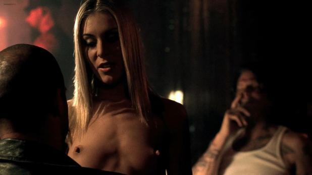 April Flowers nude topless as stripper - A Man Apart (2003) hd1080p