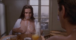 Emmanuelle Seigner nude topless milk and more  - Bitter Moon (1992) hd720-1080p