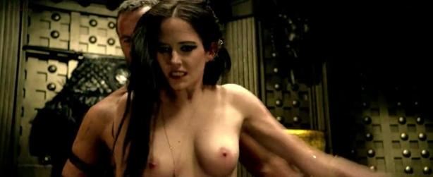 Eva Green nude topless and wild rough sex in - 300 Rise of an Empire (2014) hd720p [webRip] w/slow-motion