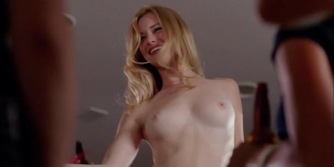 Jessica Morris - nude topless while stripping in - Senior Skip Day (2008) hd720p