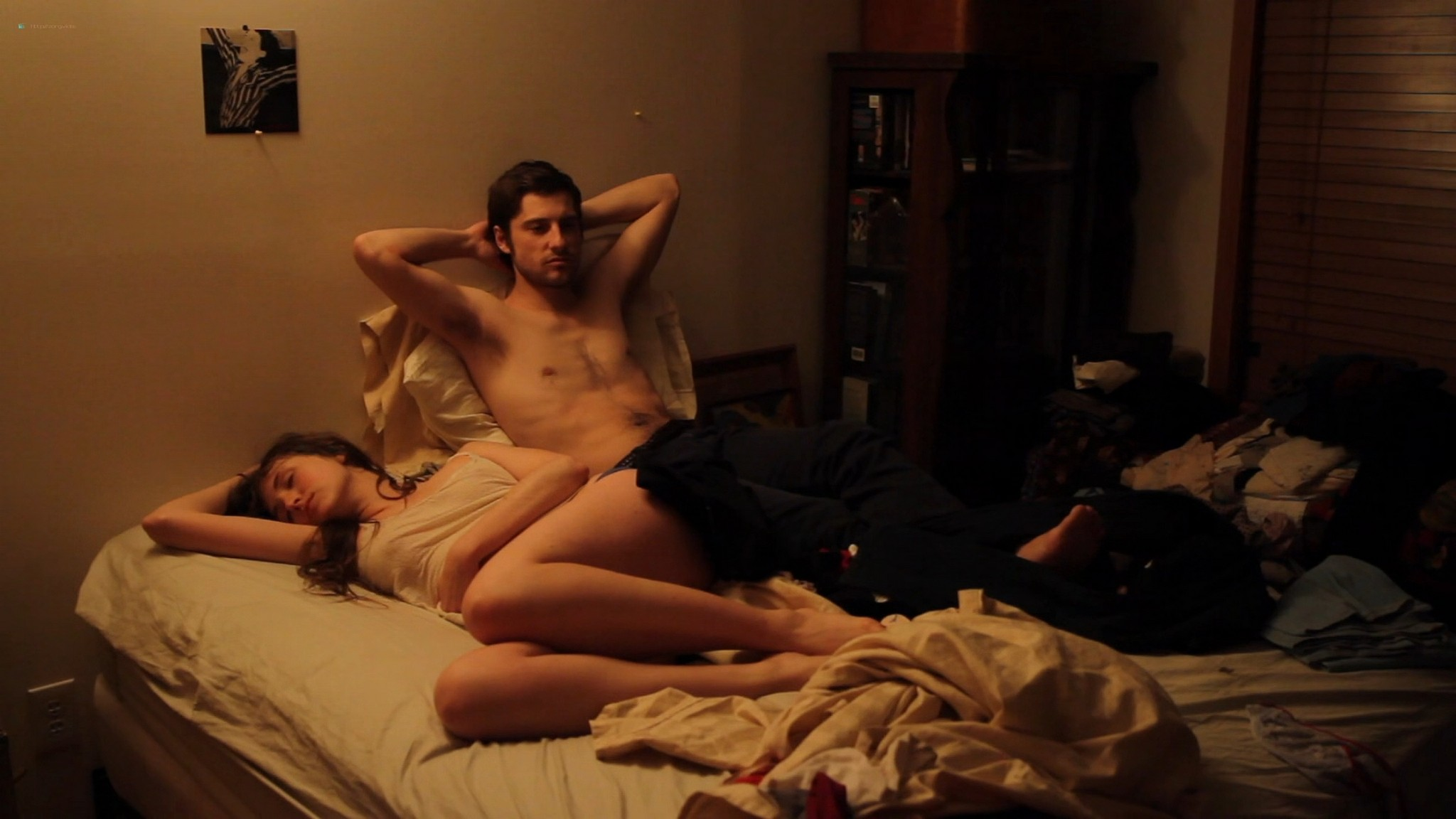 Kate Lyn Sheil nude and Sophia Takal nude full frontal and lesbian sex - The Zone (2011) HD 1080p Web (9)