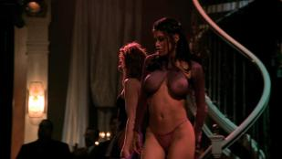 April Flowers nude stripping and topless and Rachel Sterling not nude but hot see through in - A Man Apart (2003) hd1080p