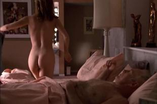 Dina Meyer butt naked in - Poodle Springs (1998)