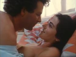 Kim Delaney nude topless in - The Drifter (1988)