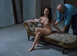 Emmanuelle Béart nude full frontal bush and nude modeling in - La belle noiseuse (FR-1991) HD 1080p BluRay (14)