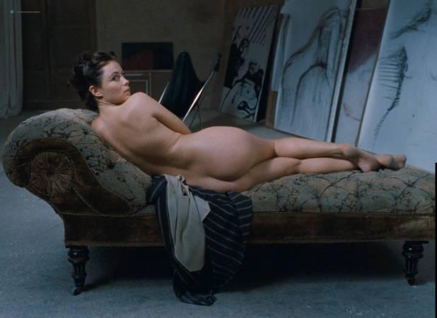 Emmanuelle Béart nude full frontal bush and nude modeling in - La belle noiseuse (FR-1991) HD 1080p BluRay (10)