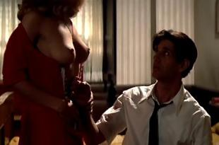 Greta Scacchi nude topless butt and very hot in – A Man in Love (1987)