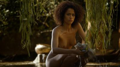 Nathalie Emmanuel nude topless and butt - Game of Thrones (2014) s4e8 HD 1080p (5)