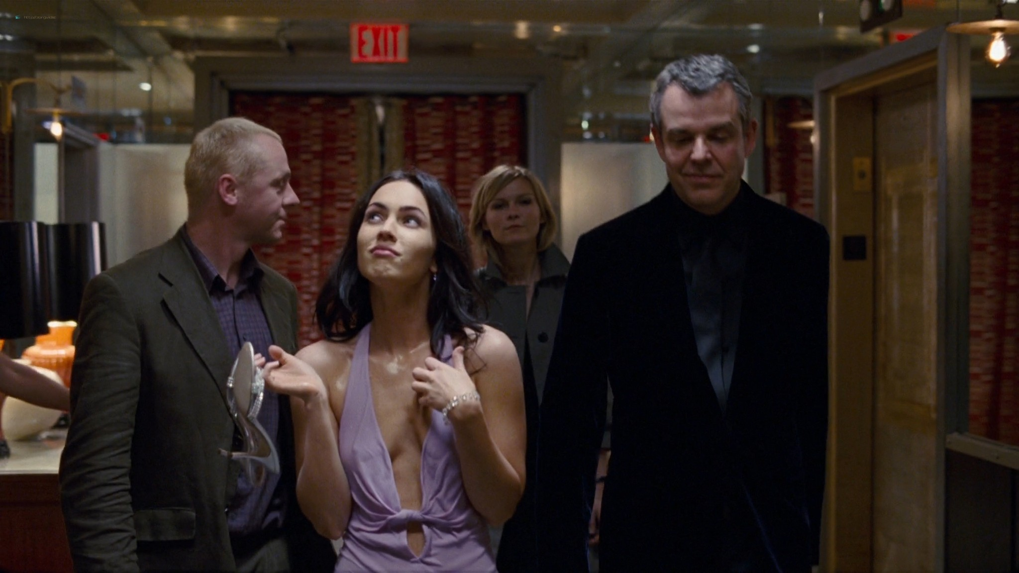 Megan Fox hot wet - How to Lose Friends and Alienate People (2008) HD 1080p BluRay (15)