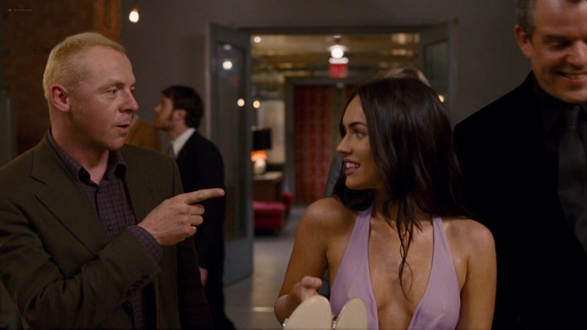 Megan Fox hot wet - How to Lose Friends and Alienate People (2008) HD 1080p BluRay (14)