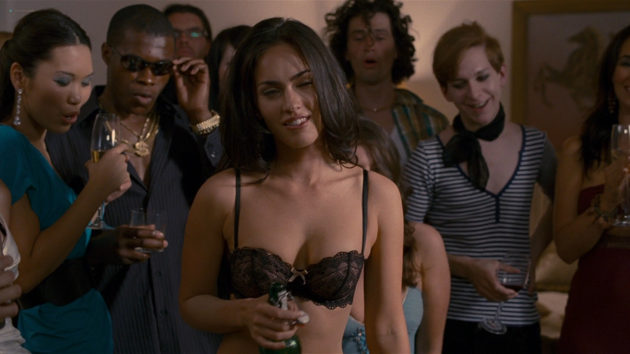 Megan Fox hot wet - How to Lose Friends and Alienate People (2008) HD 1080p BluRay (7)