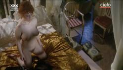 Paola Senatore nude full frontal and Claudia Cavalcanti nude bush and sex - Maladonna (IT-1984) (11)